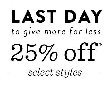Today Only: 25% Off Toms (Select Styles)