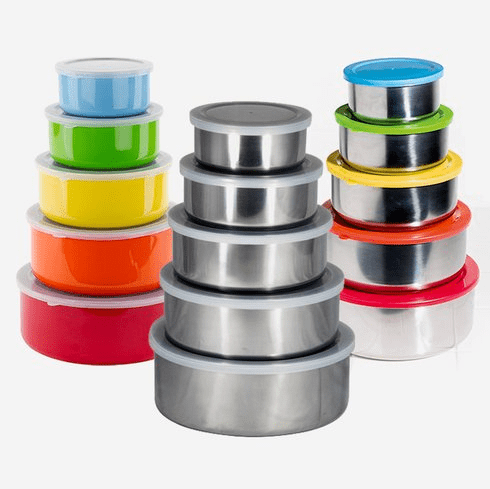 5-Piece Mixing Storage Set with Lids