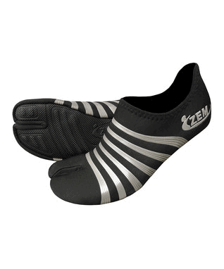 Black & Pewter Original Ninja Low Athletic Shoe