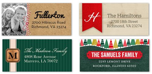 FREE Address Labels Just Pay Shipping