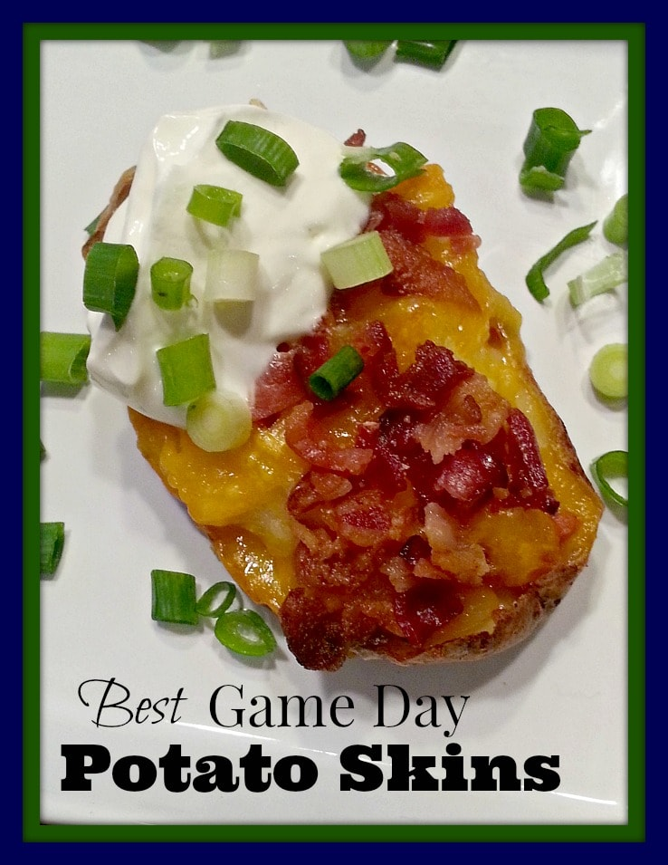 Potato Skins Recipe – Easy Appetizers for Game Day Spreads!