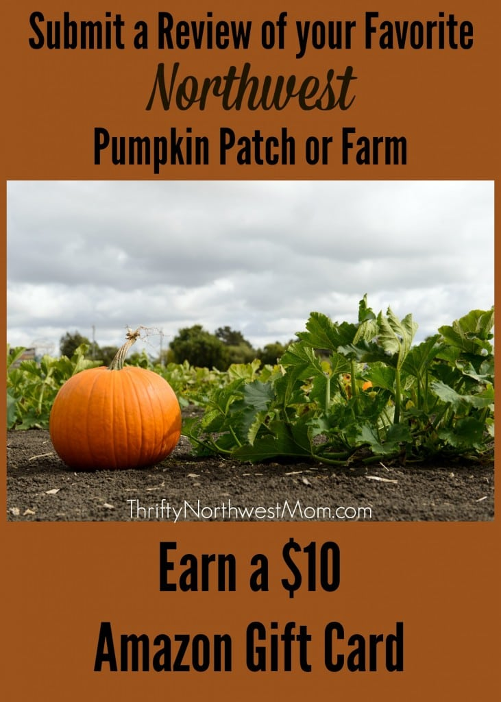 Submit a Review of your Favorite Northwest Pumpkin Patch