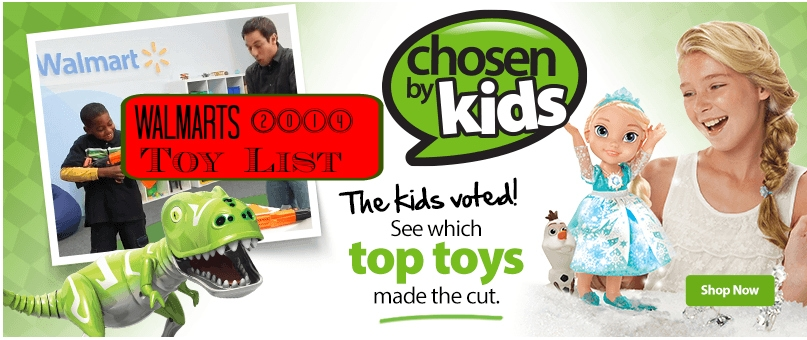 Walmart Top Toys 2014 : Walmart top toys for christmas kid approved
