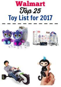 Walmart Top 25 Toys for Christmas List