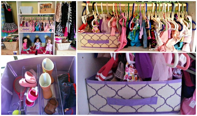 Making A Doll Clothes Closet With Dollar Store Items Perfect For American Girl Dolls Thrifty Nw Mom