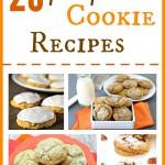 20 Pumpkin Spice Cookie Recipe & more delicious Pumpkin Cookie Recipes!