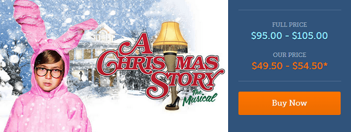 A Christmas Story: The Musical Brings Ralphie & Family to Seattle. You can get them for as low as $49.50