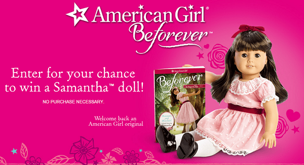 American Girl Doll Giveaway Enter For The Chance To Win Samantha Dolls!