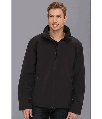 Calvin Klein Classic Soft Shell Color Block Coat $49.99 Shipped (Reg $165)
