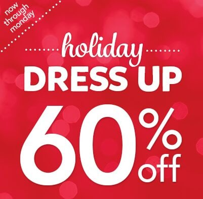 Carters Sale: Holiday Dress Up 60% Off!
