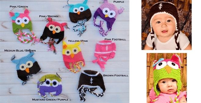 Crochet Hats For Kids $3.99!