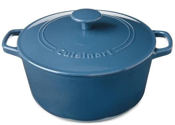 Cuisinart Chef's Classic Enameled Cast Iron 5-Quart Round Covered Casserole