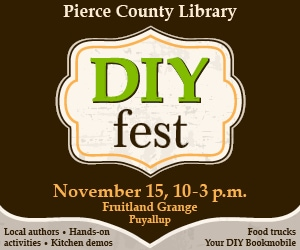 DIYfest in Puyallup – Saturday October 29 from 10am – 3pm