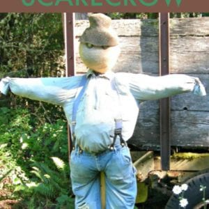 DIY Scarecrow - How to Make a Scarecrow using Items from around your house