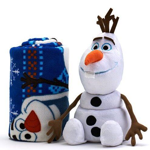 Disney Frozen Olaf 2-pc. Pillow & Throw Set $15.99!