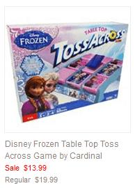 Disney Frozen Table Top Toss Across Game by Cardinal