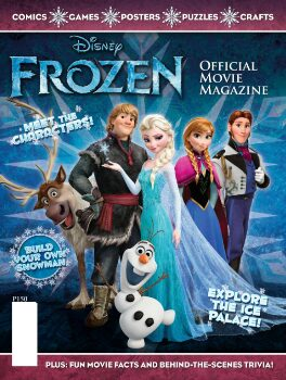 Disney Frozen Magazine – $14.50 for a One Year Subscription (58% Off)!