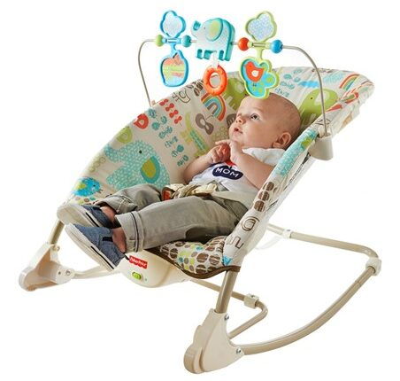 Fisher-Price Deluxe Infant to Toddler Rocker $19.99!