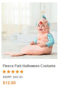 Fleece Fish Halloween Costume