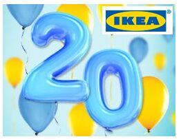 Ikea 20th Anniversary Celebration