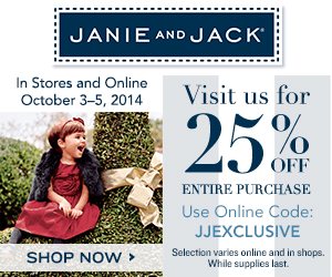 coupon code janie and jack