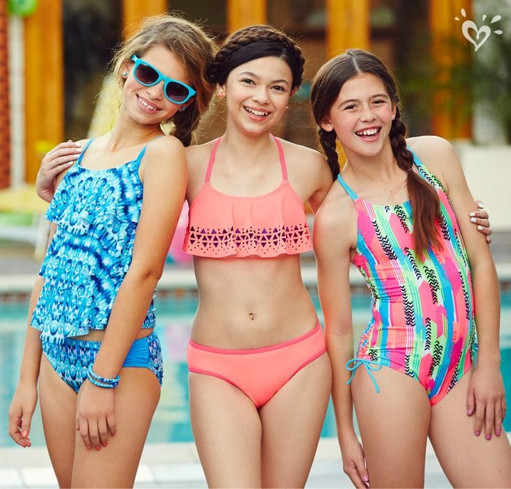 Justice for Girls Swimwear Up To 75% Off! Prices Start At 3.99!