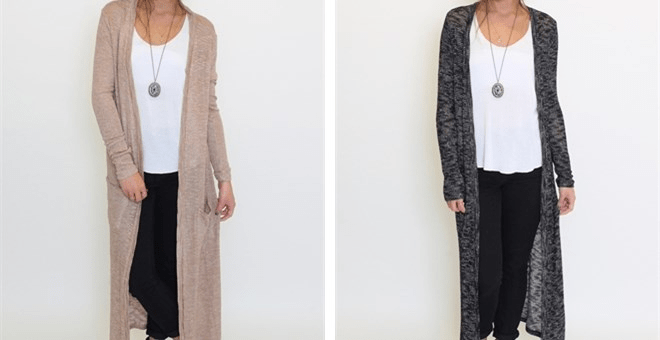 Maxi Pocket Cardigan