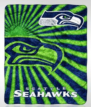 NFL Sherpa Throw Blanket Including Seahwaks $23.99!!