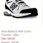 New Balance 608 Cross-Trainers