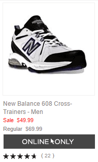 New Balance 608 Cross-Trainers