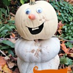Make Disney's Olaf (From Frozen) Using Pumpkins this Fall!