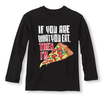 Pizza Lover Graphic Tee