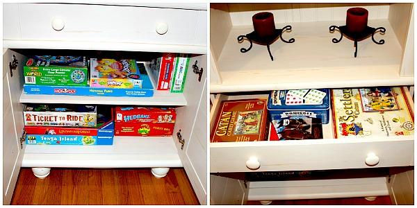 Sauder Library Shelf for Game Storage