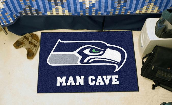 Seahawks NFL Man Cave Starter Mat