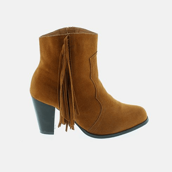 Shoes of Soul Ankle Boot with Fringe