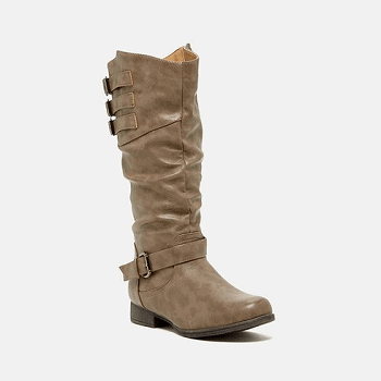 Shoes of Soul Knee-High Buckle Boots