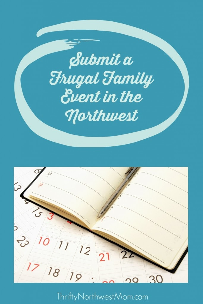 Submit a Frugal Family Event
