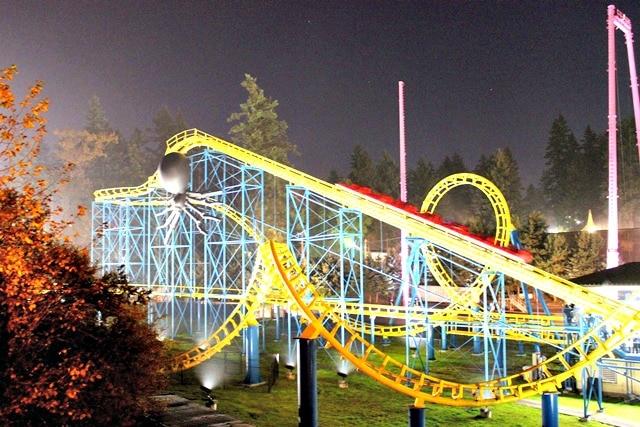 Wild Waves Roller Coaster