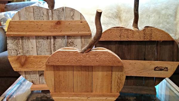 how to make wooden pumpkins