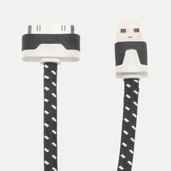 iPad iPhone 30-pin to USB Noodle Cable