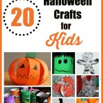 Simple Halloween Crafts for Kids – 20 Fun Fall & Halloween Ideas!
