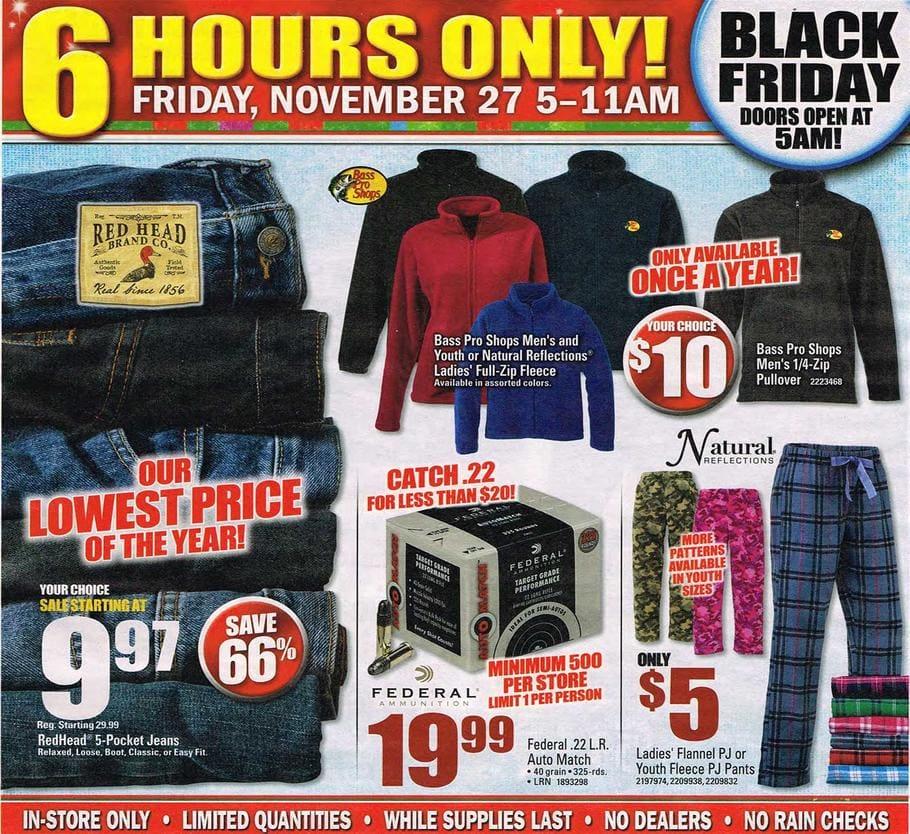 Bass Pro Shops Black Friday 2015