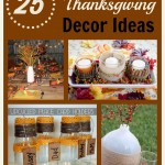Homemade Thanksgiving Table Decorations & More Frugal Thanksgiving Decor Ideas!