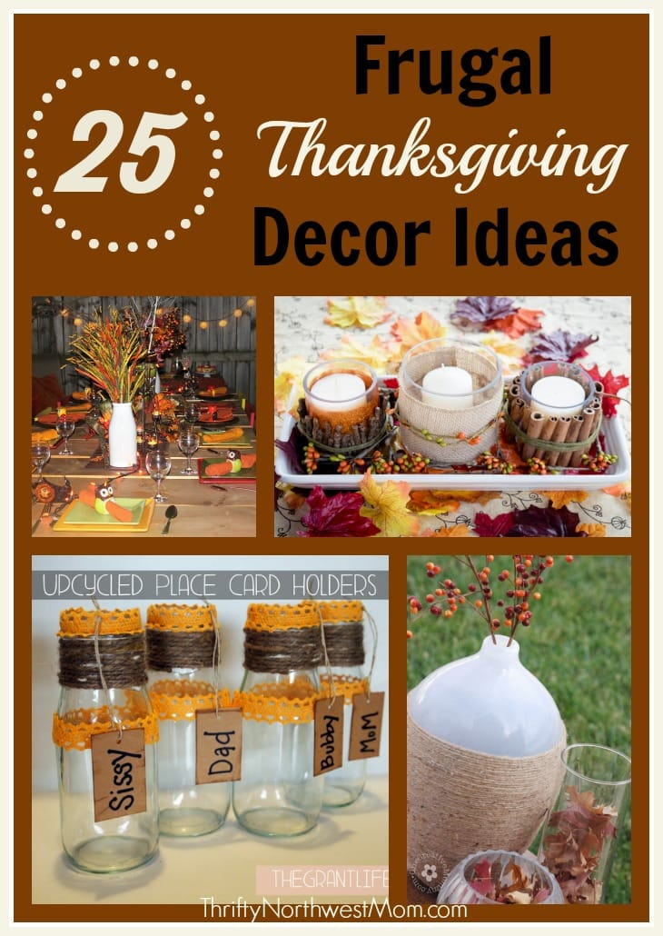 Fall archives thrifty nw mom Thanksgiving table decorations homemade