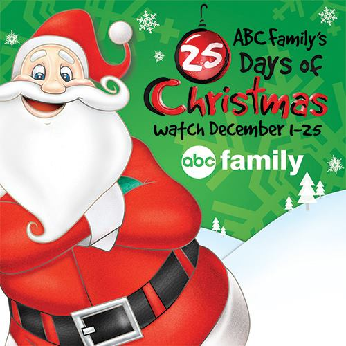 ABC Family 25 Days of Christmas 2016 Line Up!