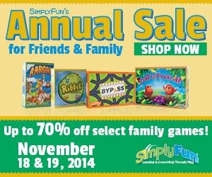 Simply Fun Annual Sale