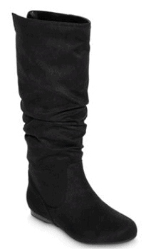 Arizona Kenya Tall Faux-Suede Womens Slouch Boots