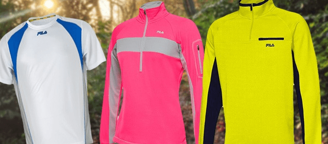 Fila Apparel Clearance Prices As Low As $9.99!