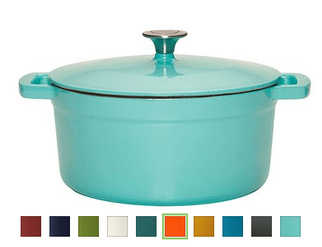 Food Network 5 5 Qt Enamel Cast Iron Dutch Oven As Low As 26 49