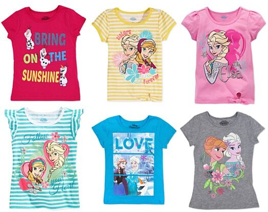 Frozen Shirts As Low As $3.19 Shipped!